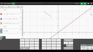 line project in desmos youtube