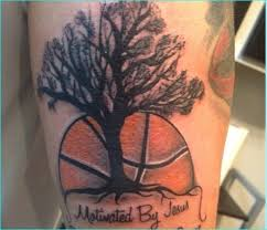 25 basketball tattoos ideas