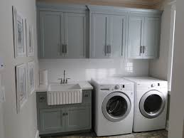 Laundry Room Sinks With Cabinet Gray Green Cabinets Transitional Laundry Room Benjamin