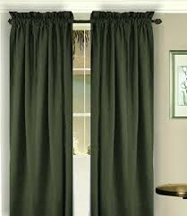 Green And Brown Curtains Green Window Curtains Teawing Co