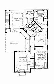 interior courtyard house plans hacienda style house plans new modern with interior