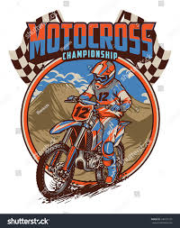 motocross racing tips motocross racing championship stock vector 646721221 shutterstock