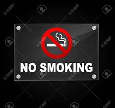 no smoking sign transparent background vector illustration of transparent no smoking sign on white