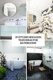 creative ideas for bathroom hexagon tile bathroom home u2013 tiles