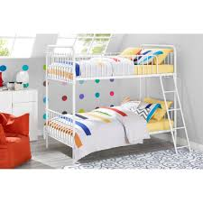 Twin Bed Walmart Walker Edison Twin Over Twin Wood Bunk Bed Multiple Colors