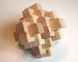 wooden puzzle 24 burr puzzle
