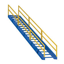 18 step modular steel stairways 18 step industrial steel