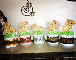 lion king baby shower supplies baby simba lion king cutouts diecuts lion king baby shower