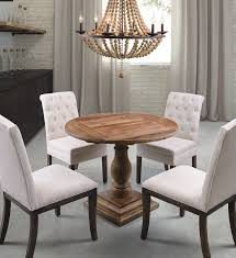 distressed round dining table unique distressed round dining table in elegant look cole papers