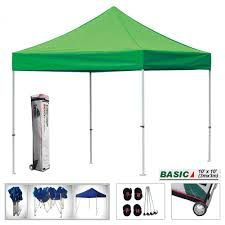 10x10 Metal Frame Gazebo by Eurmax Basic 10x10 Pop Up Canopy Instant Tent Outdoor Party