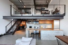 decorating a loft decorating loft apartments kitchen industrial with zebra wood