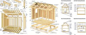 Garden Shed Design Plans Markcastroco - Backyard storage shed designs