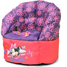 disney minnie mouse sofa bean chair walmart com