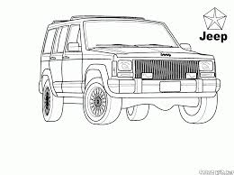 coloring page family suv