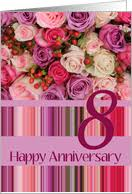 8th wedding anniversary cards from greeting card universe