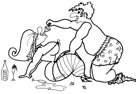 strawberries u0026 champagne coloring pages for adults from the