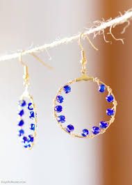 earrings diy 15 gorgeous pairs of earrings you can make yourself