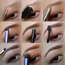 How To Color In Eyebrows Callmechim How I Fill In My Eyebrows