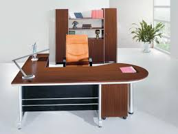 Modern Executive Desks Fascinating Chocolate Wooden Modern Executive Desk Orange High