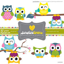 free owl clipart for baby shower