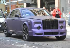 roll royce purple look purple rolls royce worth 500k hit with parking ticket