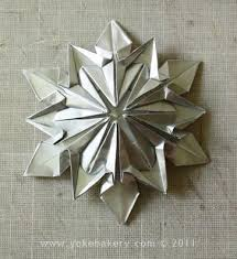 origami snowflake 17 steps with pictures