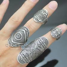 Finger Tribal - aliexpress com buy vintage silver gold tribal indian mayan