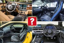 Best Car Interiors The Best Car Interiors What Car