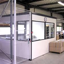 bureau d atelier modulaire cloisons d atelier msi elikit manutention stockage industriel