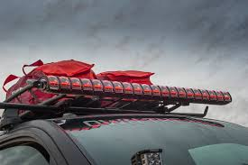 Red Led Light Bars by Rigid Industries 25041 Adapt Sae 50