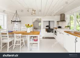 interior country house kitchen stock photo 364910483 shutterstock