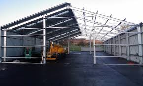 prefabricated metal structure warehouse for switzerland china