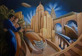 the art head hip deco travel theme painting