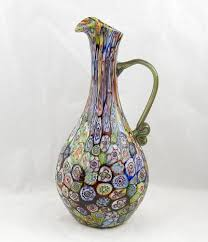 vintage arts decorative glass italian murano trocadero