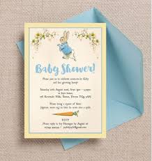 baby shower invitations rabbit baby shower invitation from 0 80 each