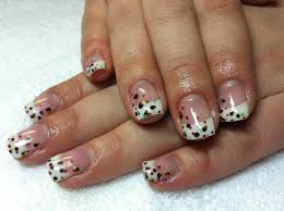 french tip acrylic nail designs simple nail design ideas