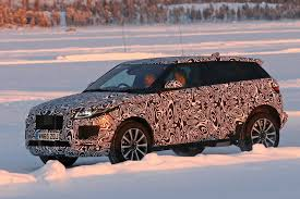 jaguar jeep jaguar e pace baby suv 2018 early test mule spotted by car magazine