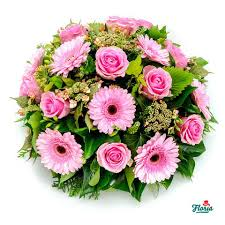 funeral arrangement funeral arrangement with gerberas and roses pret 84 00 eur