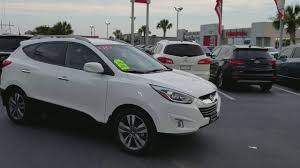 hyundai tucson 2014 white 2014 hyundai tucson limited suv for sale youtube