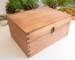wooden box etsy