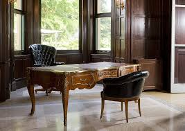 bureau chesterfield chesterfield executive chair wooden leather on casters