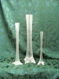 eiffel tower vase floral container 24 inch glass vases centerpiece
