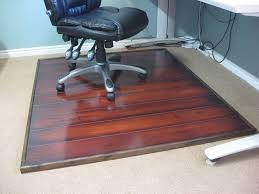 Decorative Vinyl Floor Mats by Clear Office Decorative Vinyl Floor Mats Carpet Protector 47 X 47