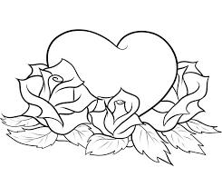 imagenes para colorear rosas el mejor blog para chicas 10 dibujos de rosas para colorear