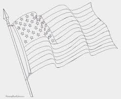 Waving American Flag Waving American Flag Coloring Page Unique Waving American Flag