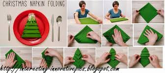 india now creative tree napkin folding