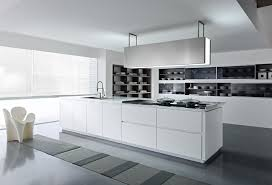 Glossy Kitchen Cabinets Fall In Love With Black And White Glossy Kitchen Designs