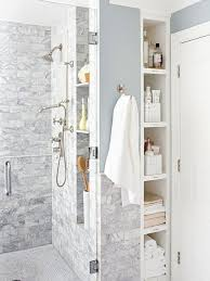 Bathroom Shower Storage Ideas Pull Out Bathroom Storage The Shower Plumbing Wall Home