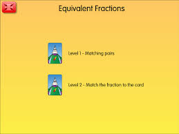 android pattern matching fraction patterns a year 3 fractions resource for ipad and android