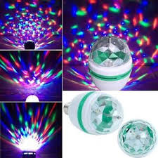 Disco Light Bulb Led Fill Color Rotating Bulb U2013 Pro Digital Wholesalers